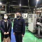 MOBIO展活セミナー企業訪問@畑ダイカスト工業さん